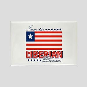 I am the Liberian Dream Rectangle Magnet