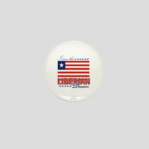 I am the Liberian Dream Mini Button