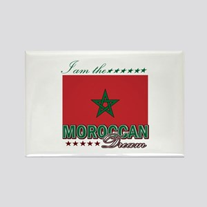 I am the Moroccan Dream Rectangle Magnet