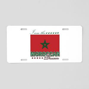I am the Moroccan Dream Aluminum License Plate