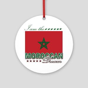 I am the Moroccan Dream Ornament (Round)