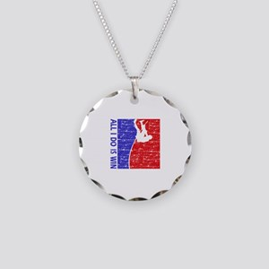 All I do is win Pole Vault designs Necklace Circle