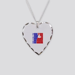 All I do is win Pole Vault designs Necklace Heart