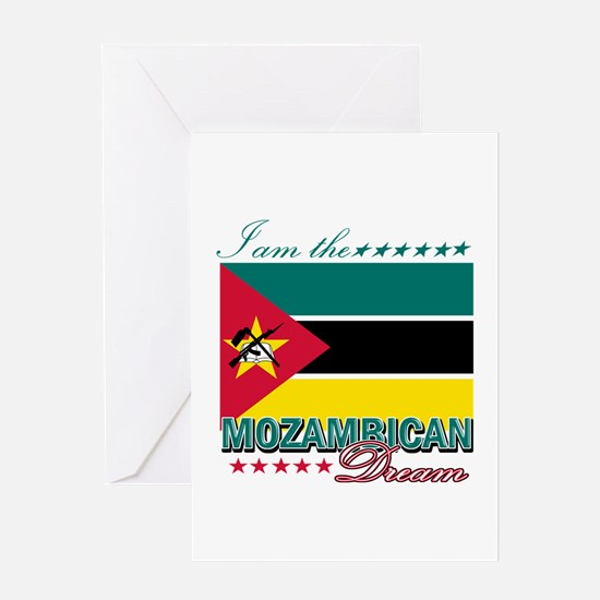 I am the Mozambican Dream Greeting Card