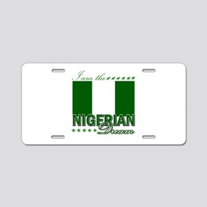 I am the Nigerian Dream Aluminum License Plate