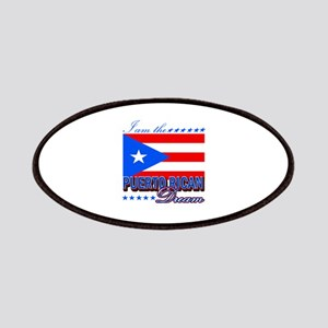 I am the Puerto Rican Dream Patches