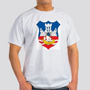 Belgrade Coat Of Arms Ash Grey T-Shirt