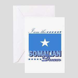 I am the Somalian Dream Greeting Card
