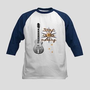 "IC Designs ""Guitar Star"" Kids Baseball Jersey"