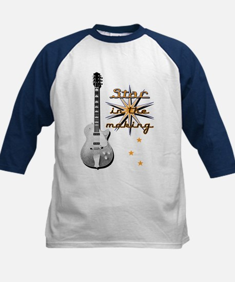 "IC Designs ""Guitar Star"" Kids Baseball Jersey"