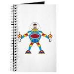 Spaceman in Mecha Robot Journal