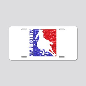 All I do is win Speed Skate designs Aluminum Licen