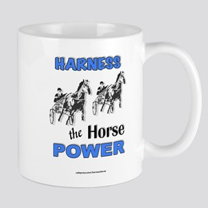Horse Power - Blue Mug