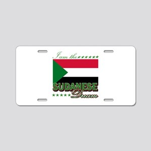 I am the Sudanese Dream Aluminum License Plate