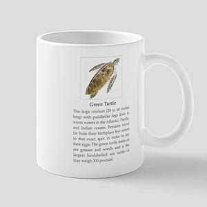 Green Turtle Mug