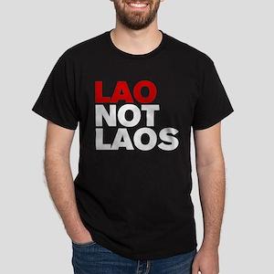 LAO NOT LAOS Dark T-Shirt
