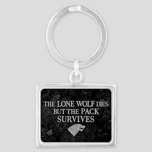 GOT Lone Wolf Dies Keychains