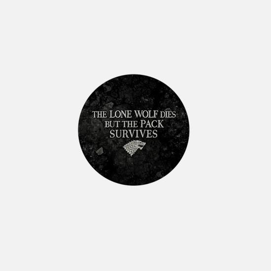 GOT Lone Wolf Dies Mini Button