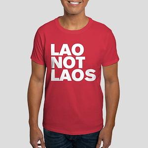 LAO NOT LAOS WHITE Dark T-Shirt
