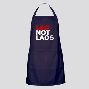 LAO NOT LAOS Apron (dark)