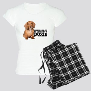 Loved by a Doxie Women's Light Pajamas