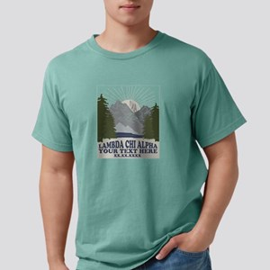 Lambda Chi Alpha Mountai Mens Comfort Colors Shirt