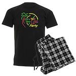 Lets Party Men's Dark Pajamas