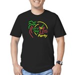 Lets Party Men's Fitted T-Shirt (dark)