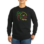 Lets Party Long Sleeve Dark T-Shirt