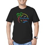 Kentucky Lake Men's Fitted T-Shirt (dark)
