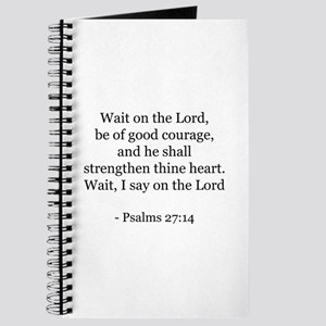 Psalms 27:14 Journal