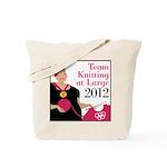 Team Knitting at Large 2012 - Ravelympics Tote Bag