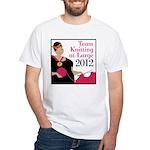 Team Knitting at Large 2012 - Ravelympics White T-
