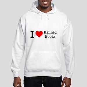 Love Banned Books Hooded Sweatshirt