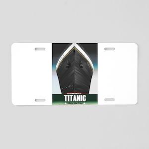 Titanic Centennial Aluminum License Plate