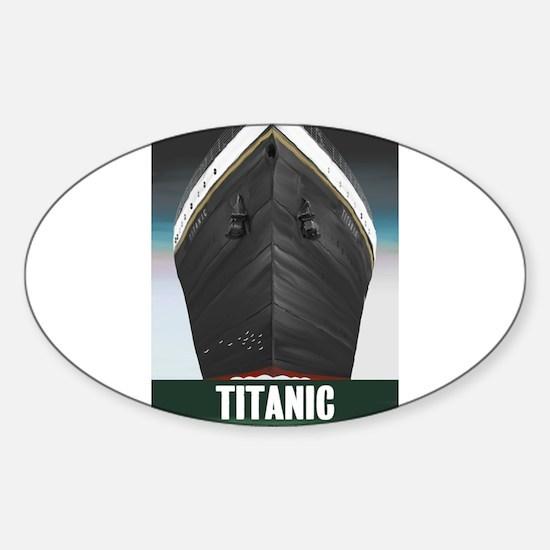 Titanic Centennial Sticker (Oval)