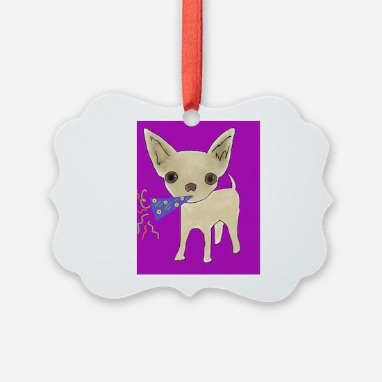 celebrate purple Ornament