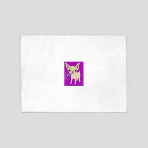 celebrate purple 5'x7'Area Rug