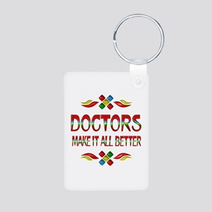 Doctors Aluminum Photo Keychain
