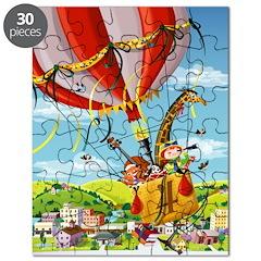 Hot Air Balloon Ride Puzzle