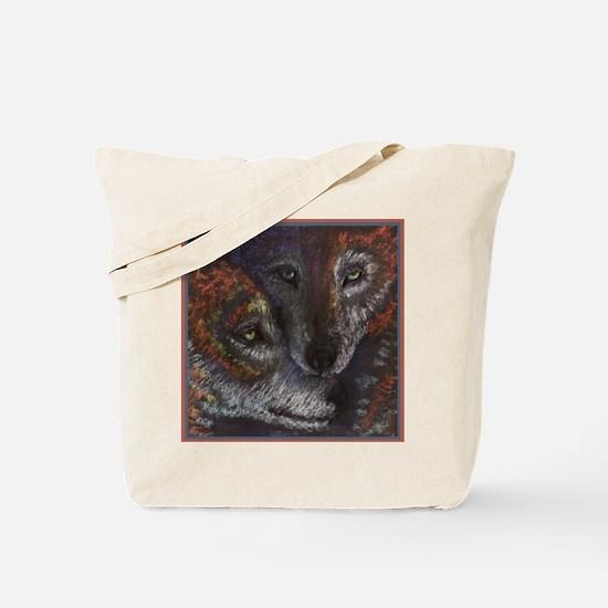 wolvesinloveT.jpg Tote Bag