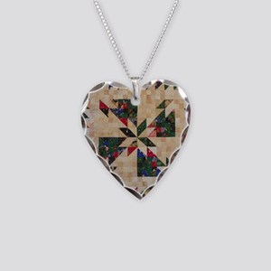 Hunters Star Necklace Heart Charm