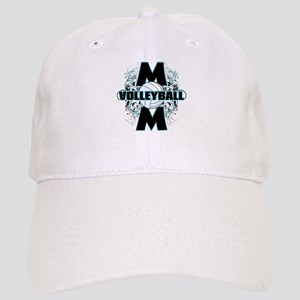 Volleyball Mom (cross) Cap