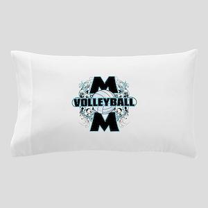 Volleyball Mom (cross) Pillow Case