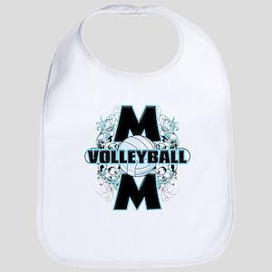 Volleyball Mom (cross).png Bib