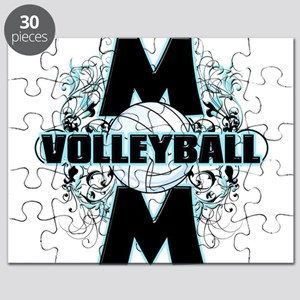 Volleyball Mom (cross) Puzzle