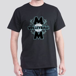 Volleyball Mom (cross) Dark T-Shirt