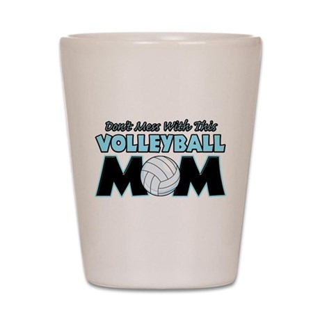Volleyball Mom Shot Glass