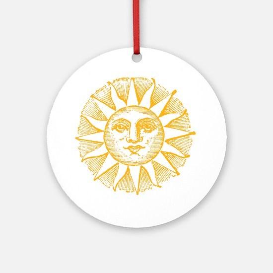 Sunny Day Ornament (Round)