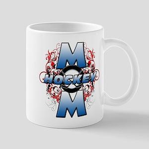 Hockey Mom (cross) Mug